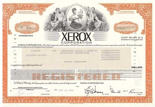 scandal of xerox Sec charges xerox with fraud  begun a crackdown on financial reporting irregularities at some of the us's largest companies on the heels of the enron scandal.