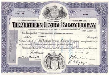 The Northern Central Railway Company