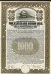 The Cleveland Short Line Railway Company Gold Bond Certificate