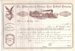 1800's The Williamstown & Delaware River Railroad Co. Stock