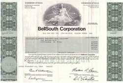 BellSouth Corp. Stock Certificate