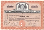 The Pennsylvania Railroad Company - Issued to E.F. Hutton