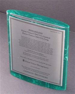 Eaton Vance CDO - Lehman Brothers Deal Lucite