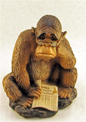 1968 Wall Street Journal Gorilla