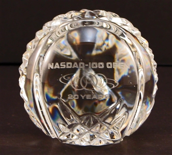 Nasdaq 100 Open Waterford Crystal Tennis Ball