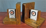 "Vintage Marble Merrill Lynch ""Tiger"" Bookends"