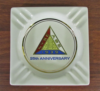 NYSE, ACB, ASE 25th Anniversary Ashtray