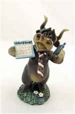 Dow Jones Bull Figurine