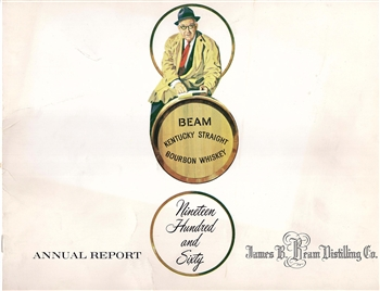 1960 James B. Beam Distilling Co. (Jim Beam) Annual Report
