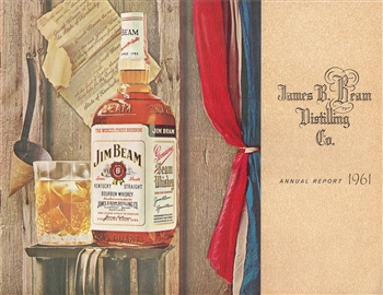 1961 James B. Beam Distilling Co. (Jim Beam) Annual Report