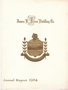 1964 James B. Beam Distilling Co. (Jim Beam) Annual Report