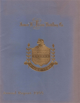1965 James B. Beam Distilling Co. (Jim Beam) Annual Report