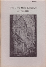 1954 New York Stock Exchange (NYSE) Year Book