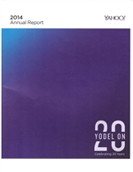 Yahoo 2014 Annual Report