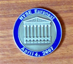 NYSE Euronext Challenge Coin