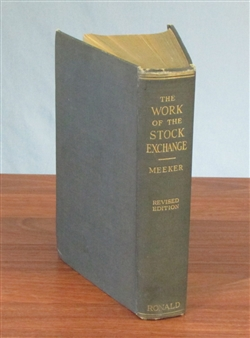 1871 - Ten Years in Wall Street by Worthington Fowler