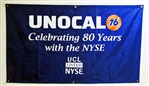 Unocal 76 NYSE 80 Years Anniversary Banner - 5'