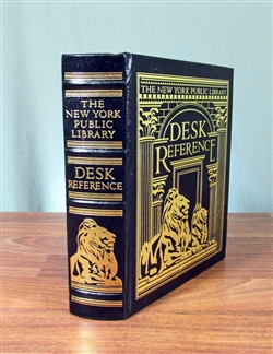 The New York Public Library Desk Reference - Easton Press