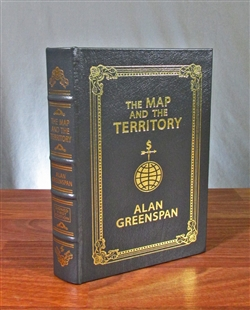The Map and the Territory Signed by Alan Greenspan