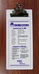 New York Futures Exchange Clipboard