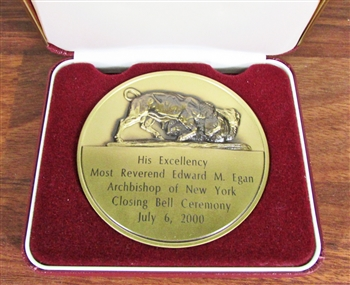 Archbishop of New York NYSE Medallion - Coin