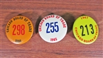 Vintage Chicago Board of Trade Floor Broker Buttons
