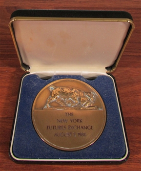 New York Futures Exchange Medallion