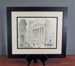 Original New York Stock Exchange by Sandra Finkenberg