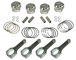 Piston/Rod Set 22R/RE H-BeamRods Forged Pistons 1985-1995