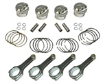 Piston/Rod Set 22R/RE H-Beam Rods Forged Pistons 1981-1984