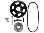 "Pro Underdrive Kit 7"" 20R/22R/RE/RET Use With Alternator"
