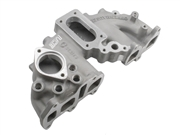 Offenhauser Performance Downdraft Intake 22R 2-Barrel Weber Carb. Flange / Single Plane