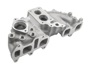 Offenhauser Performance Downdraft Intake Manifold 22R Dual Plane Weber Carb. Flange