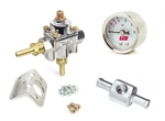 Holley Fuel Pressure Regulator Gauge Kit (Carb. Only)
