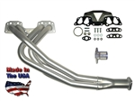 Street Header Kit 2wd Custom-Fit  22R/RE 1985-1995