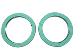 Round Collector Exhaust Gasket Kit Used On Stock Manifold Includes Two