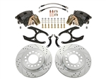 Rear Disc Brake Conversion Kit With E-Brake 1979-1995 2WD Pickup ONLY
