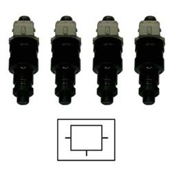 22RE Type-C Equalized Fuel Injector Set (1983-1987)