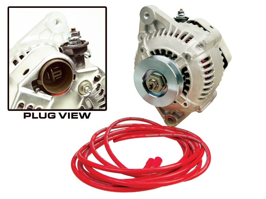 direct fit high output alternator 140 amp 1985