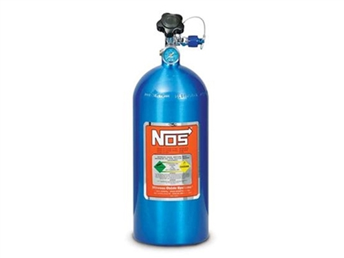 Nitrous - 10lb. Electric Blue Nitrous Bottle
