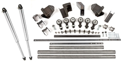 "Front 3-Link Kit with 14"" Fox Air Shocks OEM Housing"