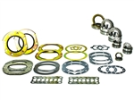 Solid Axle Knuckle Service Kit w/Wheel Bearings