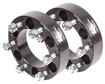 "Wheel Spacers(Pair) - 6 Lug x 1.5""Wide (6 on 5.5"")"