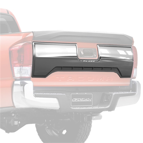 Air Design Tailgate Applique (Satin Chrome) Kit for 2016 & Up Tacoma