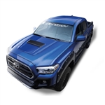 Air Design Full Kit for 2016 & Up Tacoma (Black, With OE Style Hood Scoop))