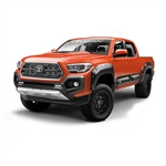 Air Design Full Kit for 2016 & Up Tacoma (Black, With AD Style Hood Scoop)