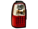 Red/Clear Tail Light Set For 2001-2002 4Runner