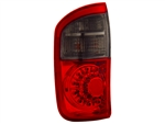 Red/Smoke Tail Light Set For 2000-2006 Double Cab Tundra