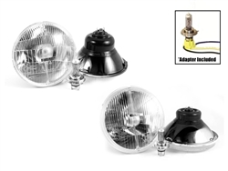 H4 Headlight Conversion Kit For Dual Round Headlight Models