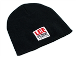 LC Engineering Black Cuffless Beanie